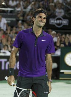 Roger Federer in Argentina