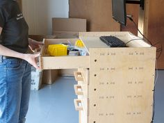 Build Your Own CNC Workstation Cart | Evil Mad Scientist Laboratories
