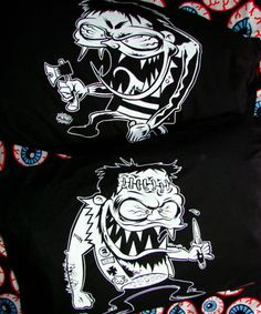 Brutalitees | Brutal Ladies And Mens Tee Shirts | Hells Blankets - Dirty Donny Pillow Set