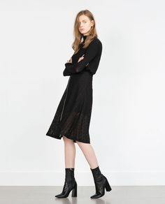 GUIPURE LACE SKIRT WITH ZIP-View all-Skirts-WOMAN | ZARA United States