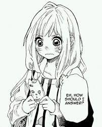 Bilderesultat for manga long hair girl