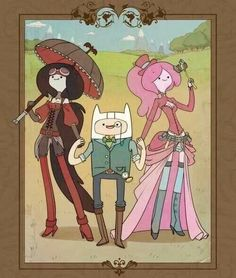 Adventure time steampunk.