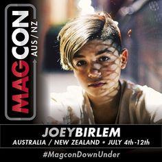 SURPRISE! We've got @Itsjoeybirlem joining us at #MagconDownUnder!