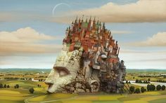 It's all in your head - Mind always builds Castles In The Air.