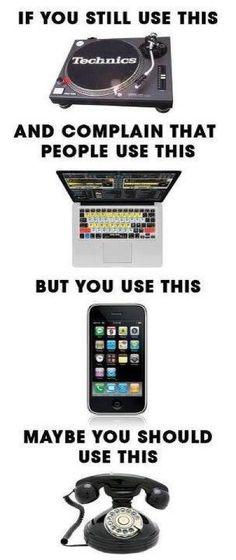 Ha - DJ gear hate