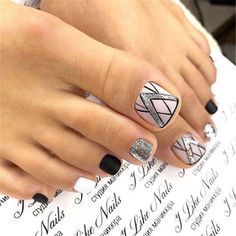 Zehennageldesign Sparkly Silver Glitter Pedicure Designs ❤ 45 Nail Designs For Toes That Will Glitter Pedicure Designs, Pedicure Nail Art, Toe Nail Designs, Pedicure Ideas, Art Designs, Toe Nail Color, Toe Nail Art, Nail Colors, Pretty Toe Nails