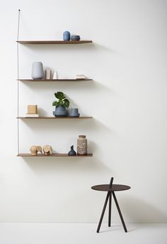 An Adorable Elephant for Kids and Adults Crafted of Solid Oak - Woud Nunu Elephant Design by Steffen Juul Unique Shelves, Wood Shelves, Glass Shelves, Floating Shelves, Shelving, Minimalist Furniture, Minimalist Home, Regal Design, Original Design