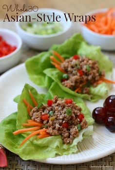 This simple one-skillet meal is definitely a flavorful spin of traditional Asian style wraps. Whole30-friendly, this tasty dish will satisfy your cravings!