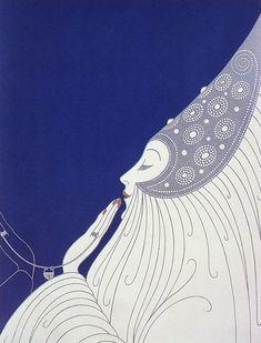 Erté, Bride, 1977.... <3