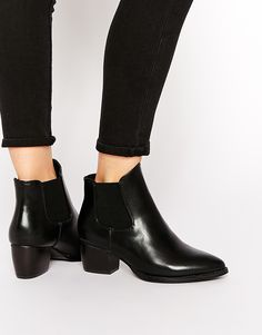 Image 1 ofTruffle Collection Thea Heeled Chelsea Boots