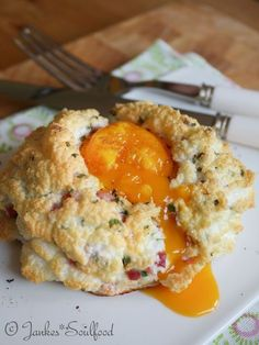 Eier Wolke zum Frühstück