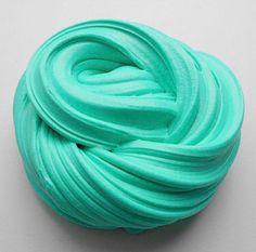 Teal Fluffy Slime by SlimesbyKcStudio on Etsy https://www.etsy.com/listing/525606764/teal-fluffy-slime