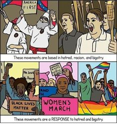 """Equal Rights Activists (@intersectional.goddess) on Instagram: """"""""don't confuse them"""" via: @activismqueen (ty @r.rxma ) """""""