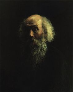 Self-Portrait, 1892  Nikolai Ge