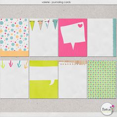 Free Valerie Journaling Cards from Dunia Designs