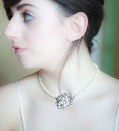 Belle necklace from Oaktree, gorgeous vintage-inspired
