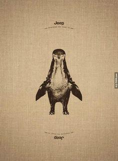 企鵝也是長頸鹿 JEEP就是可以隨心所欲