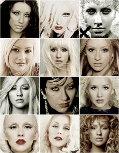 ~Christina Aguilera~ Through the years