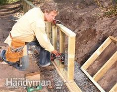 How to Build a Retaining Wall - Step by Step: The Family Handyman
