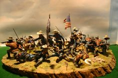 75MM CUSTER U.S 7TH Cavalry battle of the little big horn
