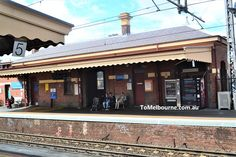 Footscray's Heritage Railway Station and the Railway Reserve Canary Island Date Palm, Canary Islands, Heritage Railway, Volcanic Rock, Local Hospitals, Construction Cost, Rare Plants, Garden Borders, City Council