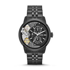 We are Authorized Fossil watch dealer, Call to place orders now-Fossil TOWNSMAN , Buy your Fossil watches from authorized dealer Stainless Steel Watch, Stainless Steel Bracelet, Handbag Accessories, Jewelry Accessories, Fossil Watches For Men, Wrist Watches, Skeleton Watches, Casio Watch, Michael Kors Watch
