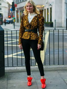 11 Outfits That Prove Leopard Print Is Just as Easy to Wear as Anything via @WhoWhatWearUK