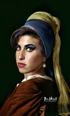 https://flic.kr/p/5BHd6o   AMY WINEHOUSE by JAN VERMEER (1632-1675)   Amy was born on September 14, 1983