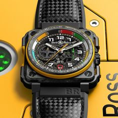 Bell & Ross BR Skeleton Chronograph - Хронограф в стиле Formula 1 Cool Watches, Watches For Men, Trendy Watches, Fine Watches, Men's Watches, Bell Ross, Watches Photography, Mens Sport Watches, Luxury Watches
