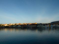 Cres skyline makes the morning Skyline, River, Outdoor, Outdoors, Outdoor Living, Garden, Rivers