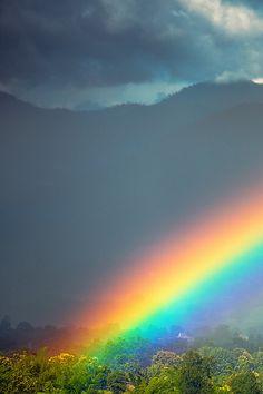 Rainbow, Pai Thailand