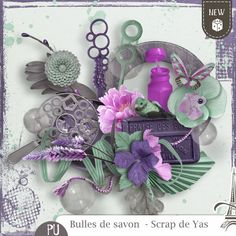 Sweet-Chick Scrap and Co Essentiel by Yas Scrap