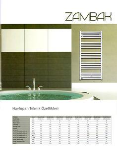 ZAMBAK  Özel tasarımı sayesinde, düz hatları ve ferah görünüşüyle banyolarınızda fark yaratır. Opsiyonel olarak rezistanslı ısıtıcı takılarak elektrikle çalışma özelliğine sahiptir.