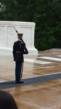 Tomb of the Unknowns - Arlington National Cemetery