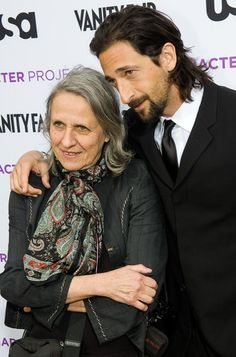 Adrien Brody and his mom Sylvia Plachy a famous photographer