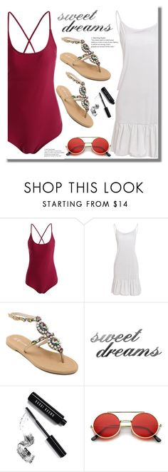 """Rosegal 39"" by edita-n ❤ liked on Polyvore featuring Letter2Word and Bobbi Brown Cosmetics"