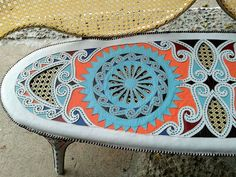 Nova coleção irmãos Campana |  Detalhe do assento do mesmo móvel (Foto: Lucas Cuervo Moura)