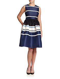 Kate Spade New York Holiday Striped Dress