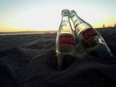 coke and the beach..the perfect combo!