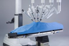 Intuitive Surgical's da Vinci Xi surgical robot with operating team. Source: JPA Health Communications Technological development is leading to an Technology World, Futuristic Technology, Medical Technology, Technology News, Technology Innovations, Medical Coding, Energy Technology, Surgical Robots, Medical Robots