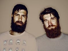 Bearded brothers, Marcus & Chris...@Jennifer Vannatta I have found our mates!