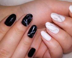 Νύχια: Marble Nails. Η τάση που πρέπει να ακολουθήσεις στο βάψιμο νυχιών Marble Nails, Beauty, Marbled Nails, Beauty Illustration, Nail Marbling