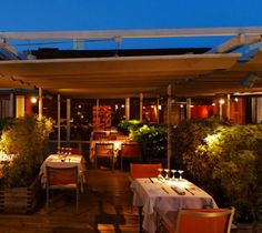 #Attic, la #Rambla 120, #Barcelona. Trendy restaurant in the heart of the city with an extensive menu and wine-list.