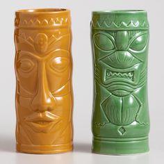 Ceramic Tiki Coolers, Set of 4 >> #WorldMarket Movie Night Giveaway Sweepstakes http://sweeps.piqora.com/worldmarket