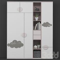 Kids Bedroom Designs, Baby Room Design, Home Room Design, Bedroom Bed Design, Baby Room Decor, Wardrobe Laminate Design, Wardrobe Door Designs, House Furniture Design, Kids Room Furniture
