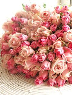 100本のピンクのバラを花束にしました。 お誕生日のプレゼントでした。 もう、ス...