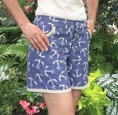 Grainline Maritime shorts