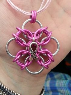 Awareness Pendant (pink)