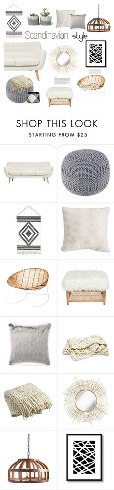 """""""Scandinavian Syle Mood Board"""" by greenvalleynest ❤ liked on Polyvore featuring interior, interiors, interior design, home, home decor, interior decorating, Pier 1 Imports, Bloomingville, Etro and CB2"""