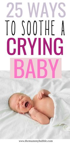 All the ways to soothe a crying baby that I wish I knew when I first became a mother. Lots of different things you can try to soothe your crying baby fast! These are a life-saver if you're struggling with sleep. | newborn, how to stop baby crying, baby crying when put down, newborn tips Gentle Parenting, Kids And Parenting, Parenting Hacks, Baby Hacks, Mom Hacks, Baby Tips, Baby Sleep, Toddler Sleep, Toddler Girls